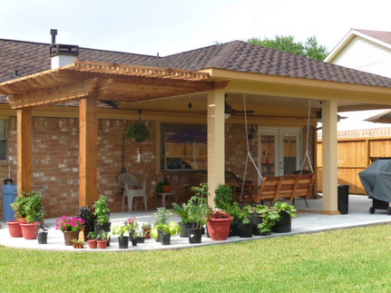 Custom Patio Covers Houston, TX. Specializing In Patio Covers, Pergolas,  Sunrooms,